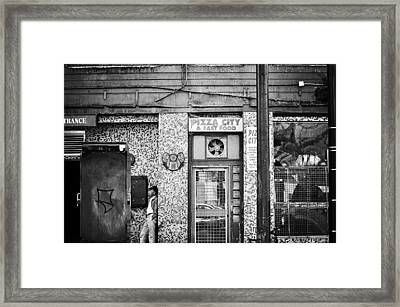 The Trance  Framed Print by Empty Wall