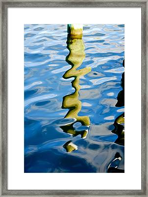 The Transformative Power Of Water Framed Print