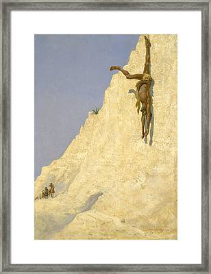 The Transgressor Framed Print by Fredrick Remington