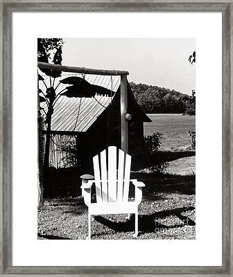 The Transporter Chair Framed Print by   Joe Beasley