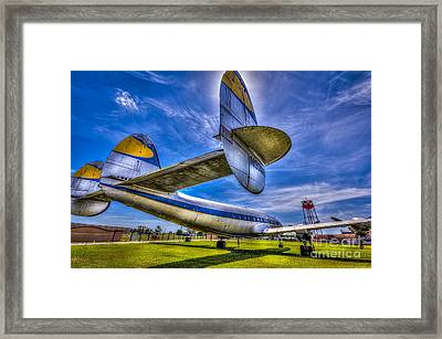 The Transatlantic Queen Framed Print
