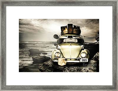 The Travel Bug Framed Print by Jorgo Photography - Wall Art Gallery
