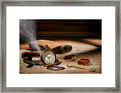The Traveler Framed Print by Olivier Le Queinec