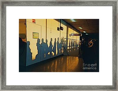 The Travelers 1 Framed Print by France  Art