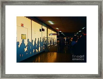 The Travelers Framed Print by France  Art