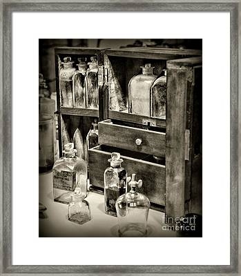The Traveling Doctor Framed Print