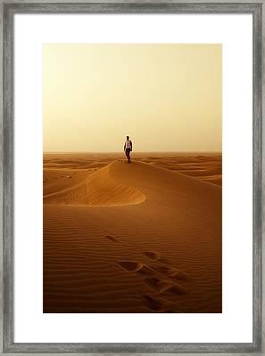 The Traveller Framed Print