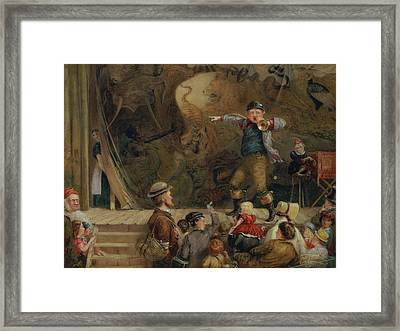 The Travelling Menagerie, 1872 Framed Print by Frederick Piercy
