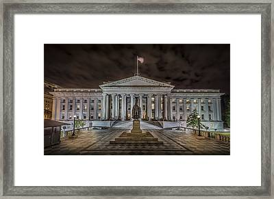 The Treasury Department Framed Print