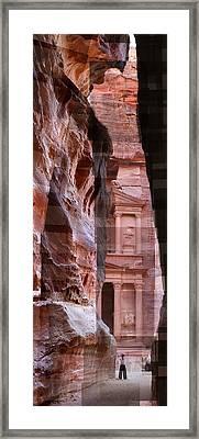 The Treasury Of Petra Jordan Framed Print