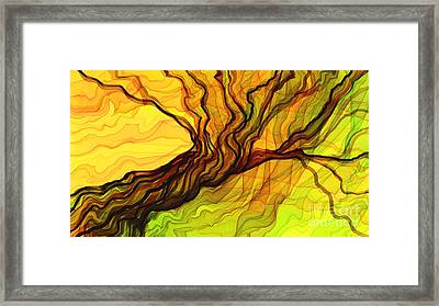 The Tree Book Framed Print by Hilda Lechuga