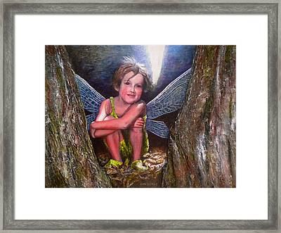The Tree Fairy Framed Print by Michael Durst