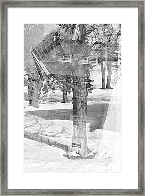 The Tree House Framed Print