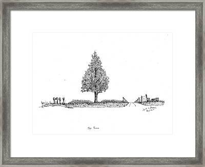 The Tree Framed Print