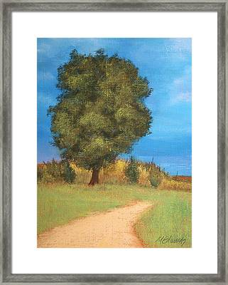 The Tree Framed Print by Marna Edwards Flavell
