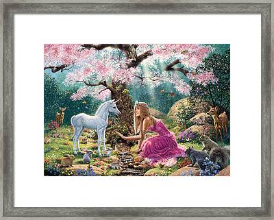 The Tree Of Life Framed Print by Steve Read