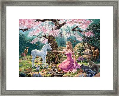 The Tree Of Life Variant 1 Framed Print by Steve Read
