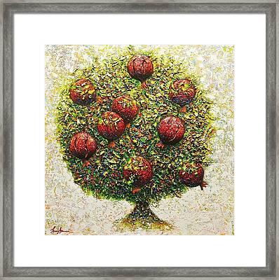 The Tree Of Love Framed Print
