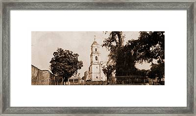 The Tree Of Noche Triste, Popotla, Jackson, William Henry Framed Print by Litz Collection