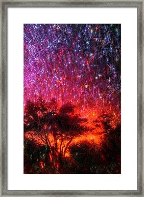 The Tree On The Edge Of Forever Framed Print by Michael Filippoff