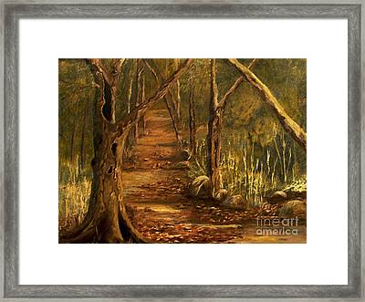 The Tree Framed Print by Sharon Burger