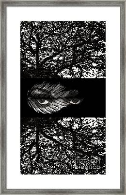 The Tree Watcher Framed Print