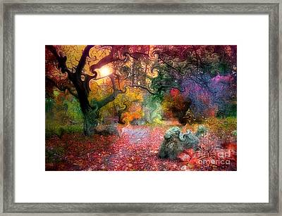 The Tree Where I Used To Live Framed Print