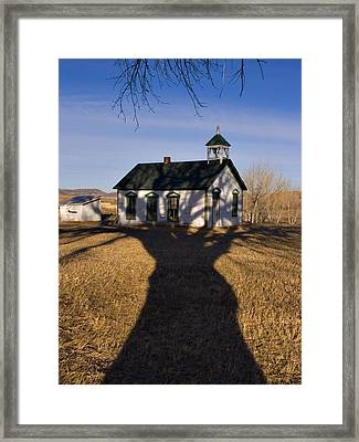 the Treehouse Framed Print by Eddie Tkowski