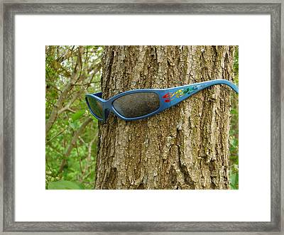 The Trees Are Watching 2 Framed Print by Paddy Shaffer