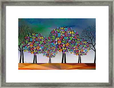 The Trees  Framed Print by Mark Ashkenazi