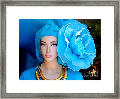 The Trendsetter Framed Print by Ed Weidman