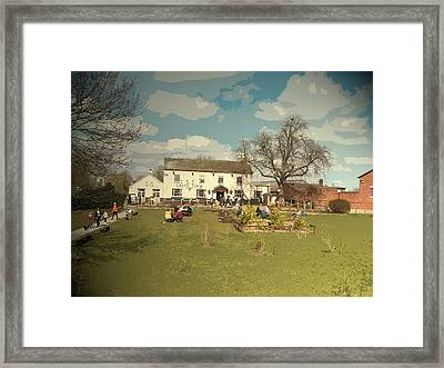 The Trent Lock Public House, Formerly The Navigation This Framed Print by Litz Collection