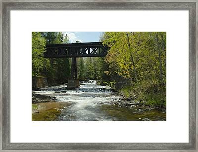 The Trestle Framed Print
