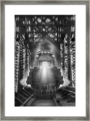 The Trestle  Framed Print by Mike McGlothlen