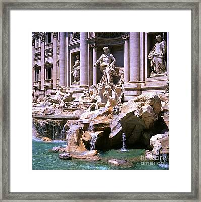 The Trevi Fountain Framed Print by Alex Cassels