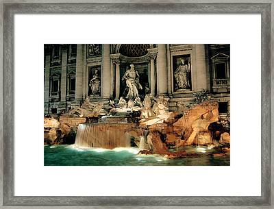 The Trevi Fountain Framed Print
