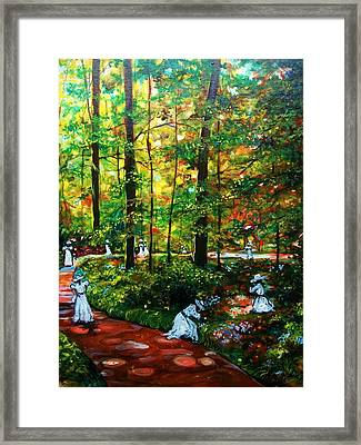 The Trials Framed Print by Emery Franklin