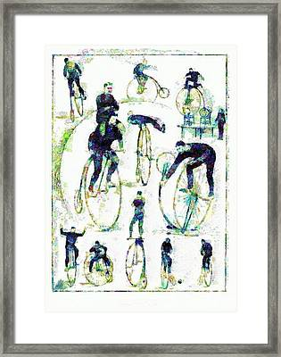 The Trick Cyclists Framed Print
