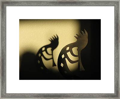 Framed Print featuring the photograph The Trickster by John Glass