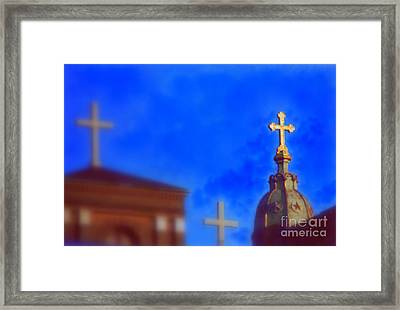 Framed Print featuring the photograph The Trinity New Orleans Irish Channel by Michael Hoard