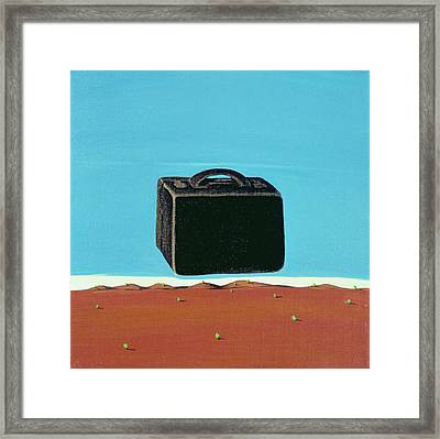 The Trip, 1999 Framed Print by Marjorie Weiss