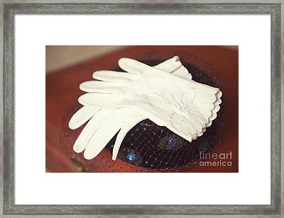 The Trip-the Gloves Framed Print by Kay Pickens