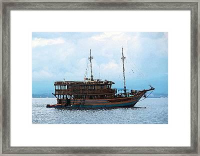 The Trip To Bunaken Framed Print by Sergey Lukashin