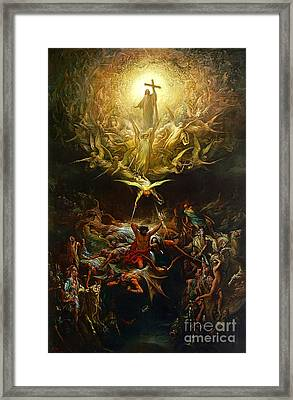 The Triumph Of Christianity Over Paganism Painting By