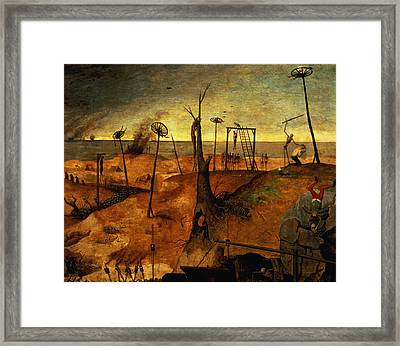 The Triumph Of Death Framed Print by Pieter the Elder Bruegel