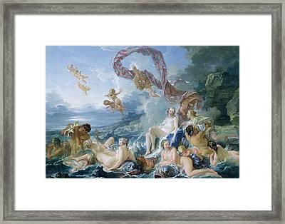 The Triumph Of Venus Framed Print
