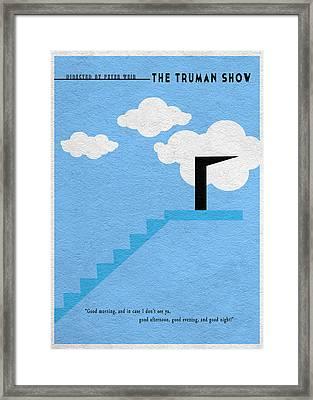 The Truman Show Framed Print by Ayse Deniz