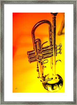 The Trumpet Framed Print by Karol Livote