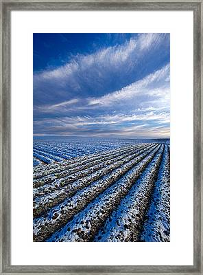 The Truth About Tomorrow Framed Print by Phil Koch