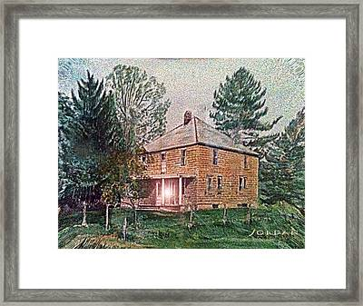 The Truth Escapes Framed Print by David Jordan